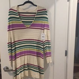 long sleeve free people dress tags attached